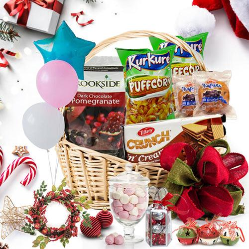 Taste of Christmas Love Gift Basket