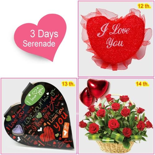 3 Day Serenade for your Sweetheart