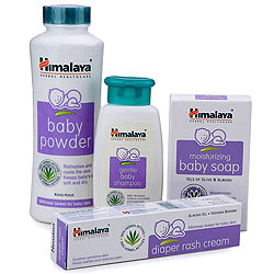 Himalaya Babycare Gift Jar (Pack of 4)