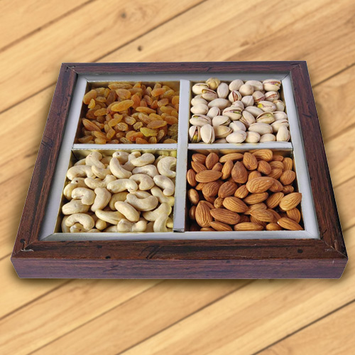 Reviving Fatigues Dry Fruit Platter