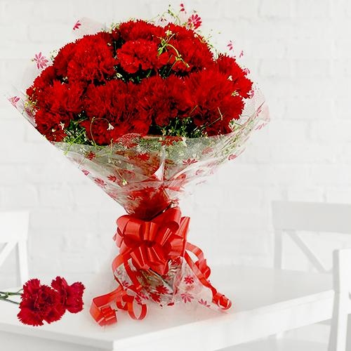 Red Surprise for Dear Mom