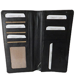 Cultured Gents Leather Coat Wallet from Rich Born