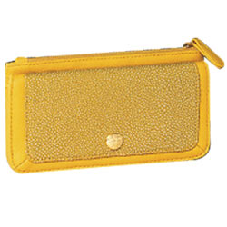 Luxurious Signature Spice Modern Yellow Wallet Designed by Avon