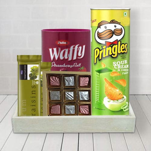 Yummy Chocolate Collection Gift Basket for him