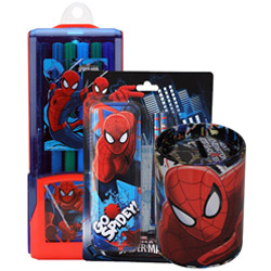 Delightful Kids Essential Spider Man Pattern Stationery Set
