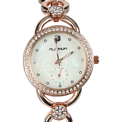 A lovely Womens Watch embellished with American  Diamonds
