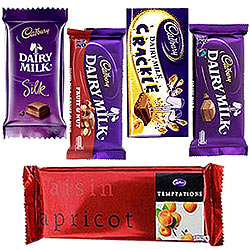 Treat of Chocolates from Cadburys