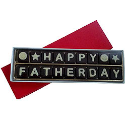 Happy Fathers Day Home made Assorted Chocolate