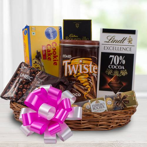 Delectable Chocolate Gift Basket