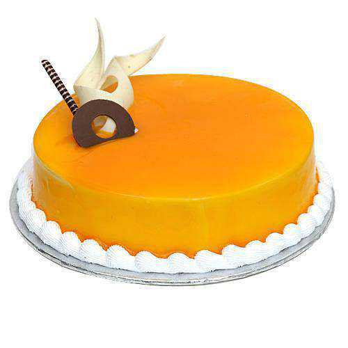 Enticing Mango Flavoured Cake
