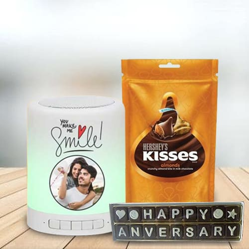 Remarkable Personalized Music Speaker with Chocolates