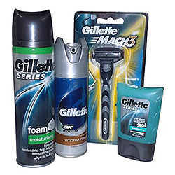 Amazing Gillette Shaving Pack