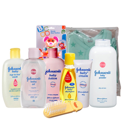 Amazing Johnson Baby Gift Set