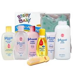 Wonderful Johnson Baby Gift Set