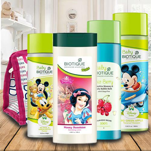 Stunning Biotique Care Hamper for Kids