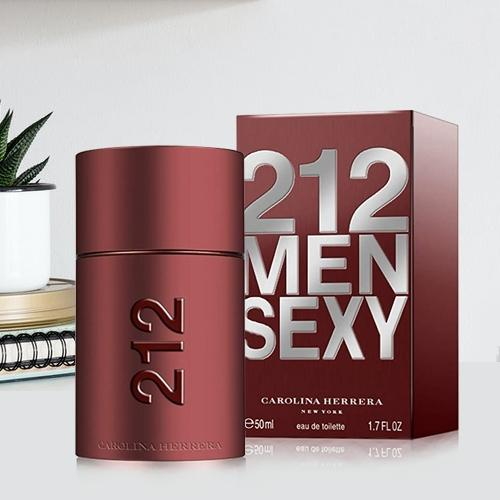 Charming Gift of Carolina Herrera 212 Sexy Men Eau de Toilette for Ladies