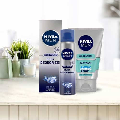 Appealing NIVEA Mens Deodorant and Face Wash