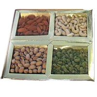 Marvelous Assorted Dry Fruits Tray