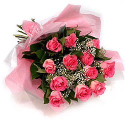 Amazing Pink Roses Bouquet