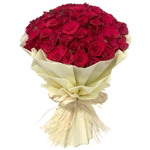 Beautiful Red Rose Bouquet
