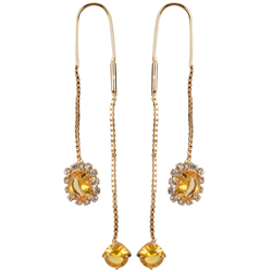 Elegant Sui Dhaga Earrings from Avon
