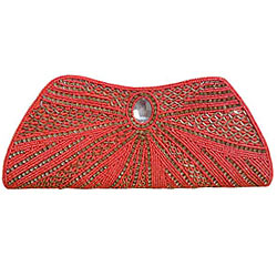 Lovely Stone Studded Clutch