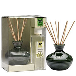 Mesmerizing IRIS Green Tea Reed Diffuser Gift Set
