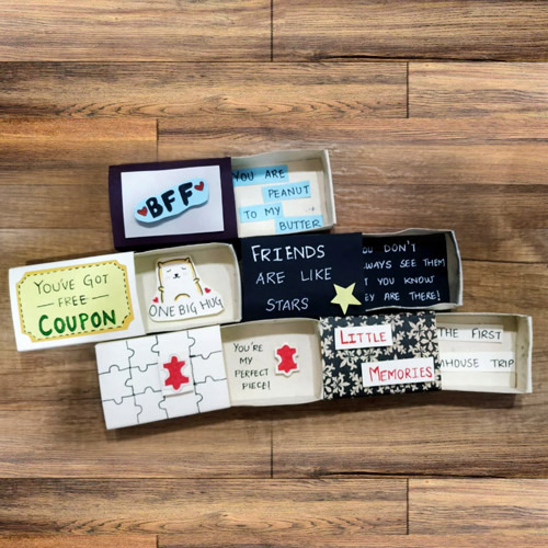 Exclusive Quirky Match Boxes