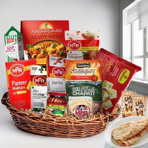 Peppery Traditional North Indian Lunch Gift Hamper