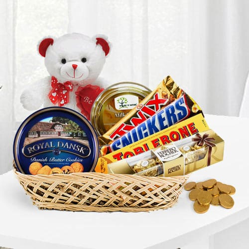 Over the Top Chocolate Gift Basket