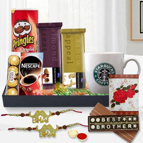 Rakhi Assortments Gift Basket