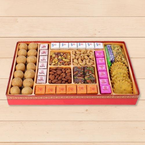 Fitting Friendship Milk Cake Sweets Box from Haldirams