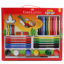 Wonderful Faber Castell Art Cart Gift Set for Kids