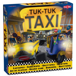 Exclusive Tuk Tuk Taxi Toy Set