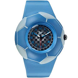 Designer kids watch in blue from Titan Zoop